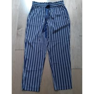 ZARA | HIGH WAISTED STRIPED TROUSER